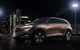 Acura presented the SUV-X Concept crossover in Shanghai