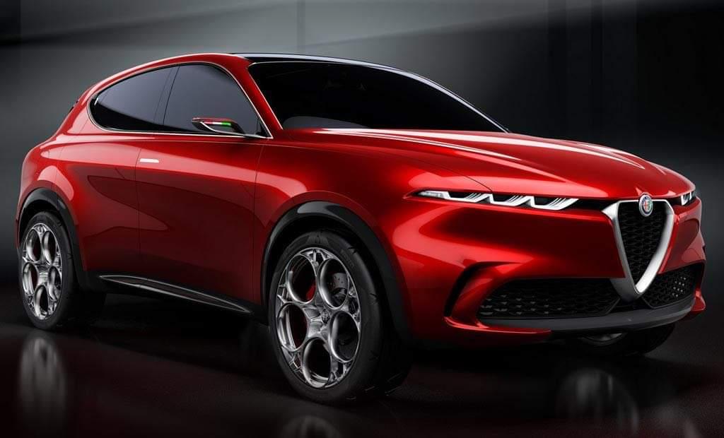 Alfa Romeo Tonale Italians presented a new crossover