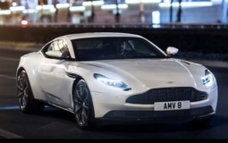 Aston Martin DB11 received a version with a V8 engine from Mercedes-AMG