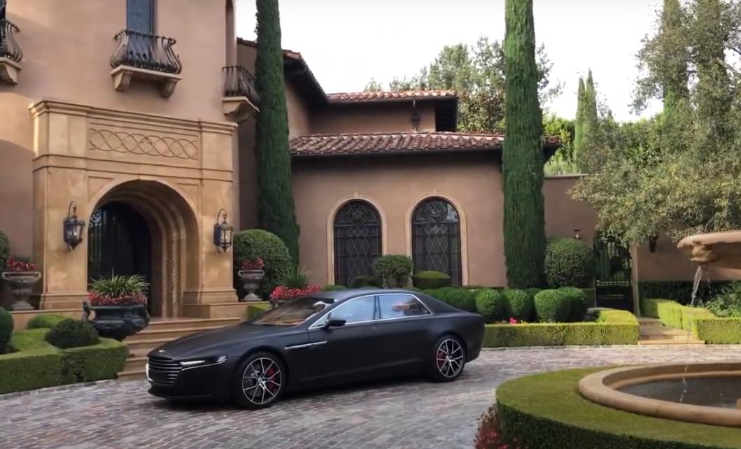 Aston Martin introduced the luxury sedan Lagonda Taraf