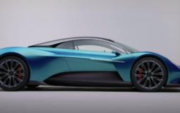 Aston Martin introduced the new Vanquish supercar
