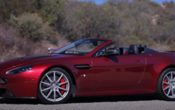 Outdoor Aston Martin V12 Vantage S Roadster