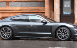 Rear-wheel drive and one engine Porsche introduced the basic version of the Taycan