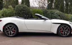 Sports car Aston Martin DB11 received an open version of Volante