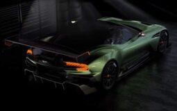 Track supercar Aston Martin Vulcan